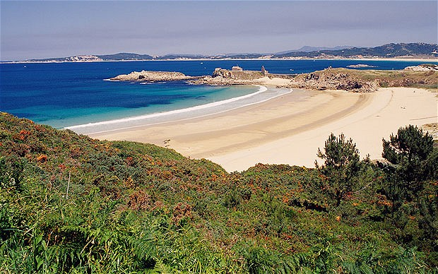 El periódico inglés The Telegraph recoge el top 5 de las playas gallegas