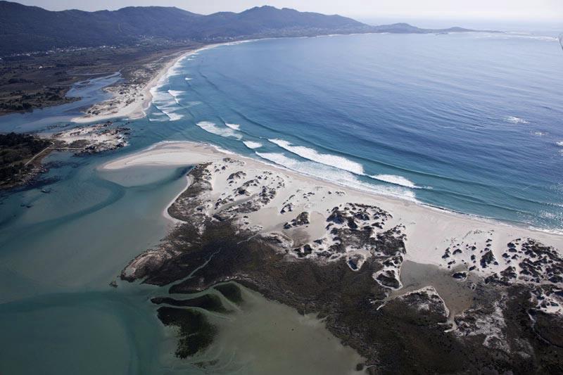 Playa de Carnota: Para pasear en cualquier epoca
