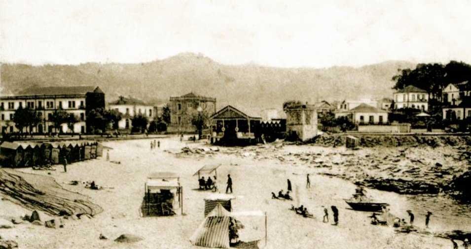 A finales del XIX Baiona ya comenzaba a ser un lugar de veraneo